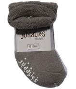 Juddlies Newborn Baby Socks Grey 0-3M