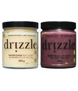 Drizzle Ginger Shine & Honey Berry Bliss Raw Honey Bundle