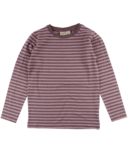 Nordic Label Long Sleeve Stripped Top Lilac