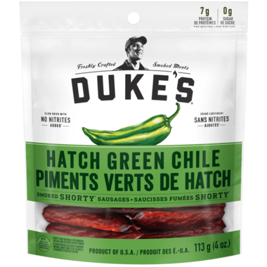 Duke\'s Hatch Green Chile Smoked Shorty Sausages