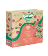 Baby Gourmet barres d'avoine aux fruits et légumes goût fraise/carotte