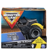 Monster Jam Official Soldier Fortune Rev 'N Roar Monster Truck 1:43 Scale