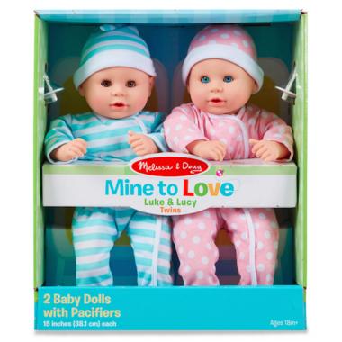Melissa & Doug Mine to Love Luke and Lucy