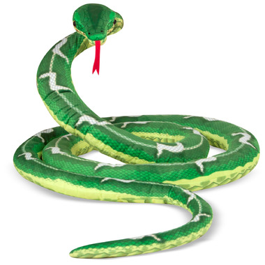 Melissa & Doug Giant Boa Constrictor Lifelike Stuffed Animal Snake