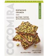 Cocomira Confections Dark Chocolate Pistachio Crunch