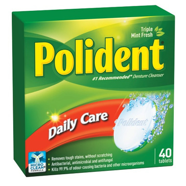 Polident Daily Care Cleanser