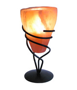 Lumiere de Sel Himalayan Crystal Salt Cone Tea Light Holder