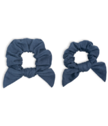 Lulujo Mommy & Me Scrunchies Navy
