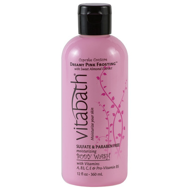 Vitabath Dreamy Pink Frosting with Sweet Almond Oil Body Wash