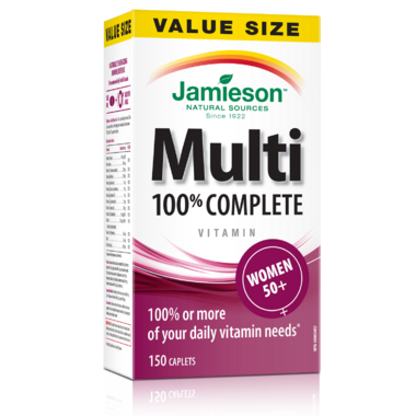 Jamieson Women\'s Adult Multivitamin 50+ Value Pack