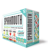 Sparkmouth Mixed Sparkling Water Pack