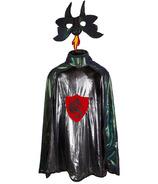 Great Pretenders Ultimate Dragon Knight Cape & Mask Blue Metallic