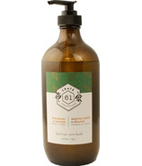 Crate 61 Organics Spearmint Orange Liquid Soap