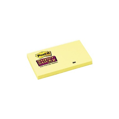 Post-it Super Sticky Canary Yellow Pads