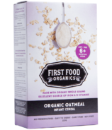First Food Organics Organic Oatmeal Infant Cereal
