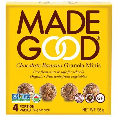 MadeGood Chocolate Banana Organic Granola Minis