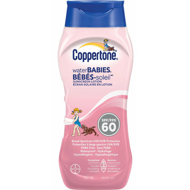 Coppertone Waterbabies Sunscreen Lotion SPF 60