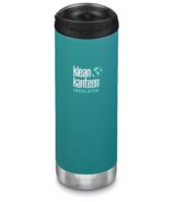 Klean Kanteen TKWide With Cafe Cap Emerald Bay