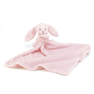 Jellycat Bashful Bunny Light Pink Soother
