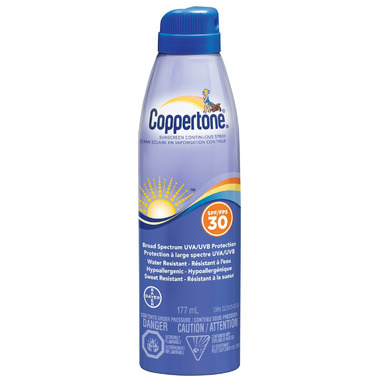 Coppertone Sunscreen Continuous Spray SPF 30