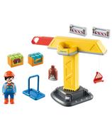 Playmobil 1.2.3. Construction Crane