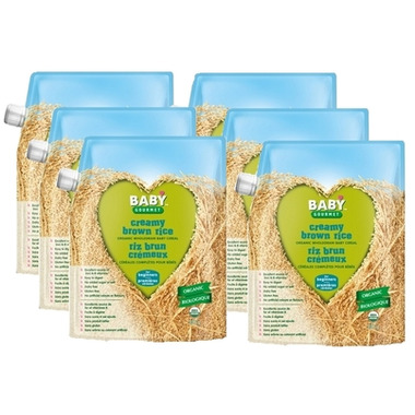 Baby Gourmet Organic Brown Rice Cereal