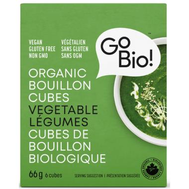 GoBIO! Organic Vegetable Bouillon Cubes