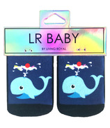 Living Royal Baby Socks Sundae Whale