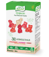 Mrs J's Natural Organic 3D Jungle Pals Fruit Flavoured Snacks