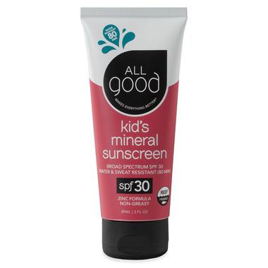 All Good SPF 30 Kids Sunscreen Lotion