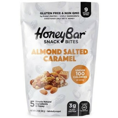 HoneyBar Snack Bites Almond Salted Caramel