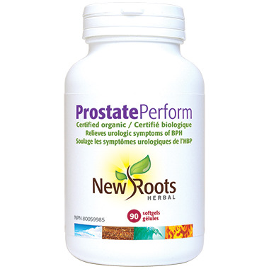 New Roots Herbal Certified Organic Prostate Perform