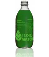 ToroMatcha Organic Sparkling Tea Ginger