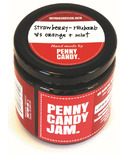 Penny Candy Jam Preserved Fruit Jam Strawberry Rhubarb, Orange and Mint