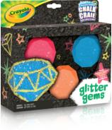 Crayola Glitter Gems Sidewalk Chalk