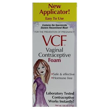 VCF Vaginal Contraceptive Foam