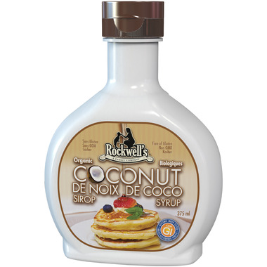 Rockwell\'s Whole Foods Organic Coconut Syrup