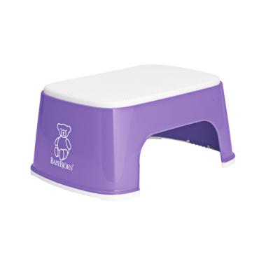 BabyBjorn Safe Step Stool Purple & White