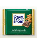 Ritter Sport Whole Almonds Chocolate Bar