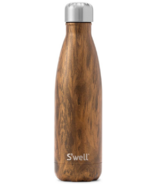 S'well Teakwood Stainless Steel Water Bottle Wood Collection