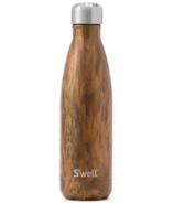 Bouteille d'eau en acier inoxydable S'well Teakwood Collection Bois
