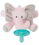 WubbaNub Pink Elephant Plush Pacifier