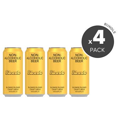 BSA Non-Alcoholic Beer Blonde Pilsner Bundle