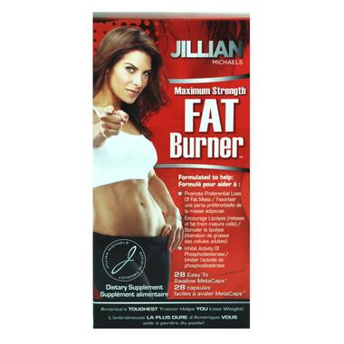 Jillian Michaels Maximum Strength Fat Burner