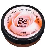 Be Better Body Butter British Rose