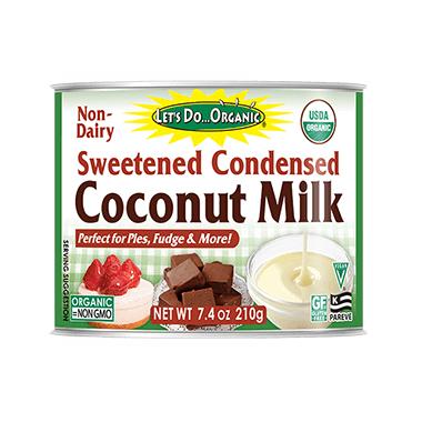 Let\'s Do...Organic Sweetened Condensed Coconut Milk