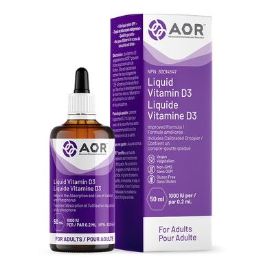 AOR Vitamin D3 Liquid Adult Formula
