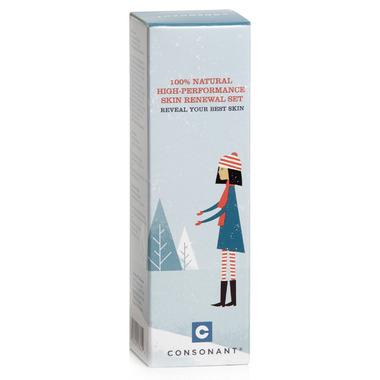Consonant Skincare 100% Natural Skin Renewal Set Well.ca Exclusive