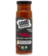 Good Food For Good Organic BBQ Sauce Sweet & Spicy