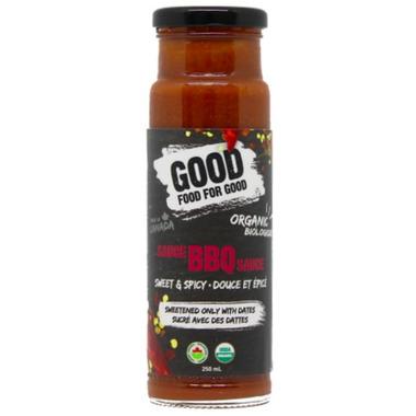 Good Food For Good Organic BBQ Sauce Sweet & Spicy
